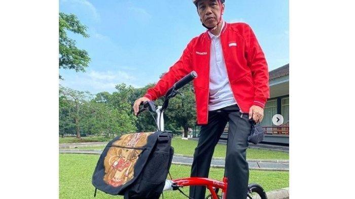 Jokowi Unggah Kegiatan Olahraganya, Ternyata Segini Harga Sepedanya : Semua Buatan Indonesia
