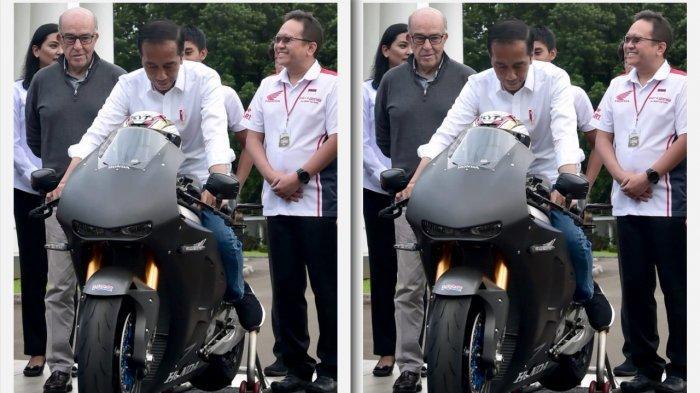 Tiga Motor Balap di Istana Bogor, Jokowi: Akan Saya Tunggangi di Balapan MotoGP di Sirkuit Mandalika