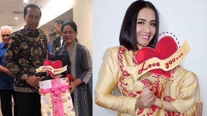 Jokowi dan Istri Jenguk Anak Denada di Singapura, Janjikan Hal Ini Bila Shakira Aurum Sehat