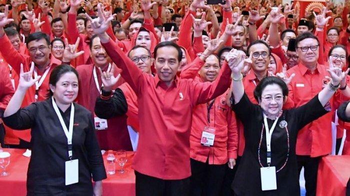 Nama Jokowi Mencuat Gantikan Megawati Jadi Ketum PDI Perjuangan, Saingi Dua Cucu Soekarno Ini