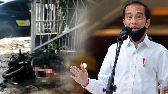 Jokowi Bereaksi dengan Aksi Bom Bunuh Diri di Gereja Katedral Makassar, Ini 4 Pernyataan Presiden