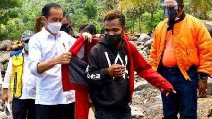 Padahal Jokowi Ingin Berikan Jaket, Fransiskus Malah Was-was saat Dipanggil Presiden