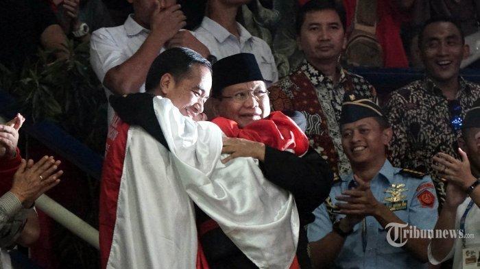 Hasil Survey Elektabiltas Jokowi-Maruf Merosot Sinyal Lampu Kuning, Prabowo-Sandi Melejit