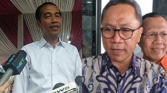 Benarkah PAN Merapat ke Koalisi Jokowi ? Berikut Penjelasan Zulkifli Hasan Usai Bertemu Jokowi