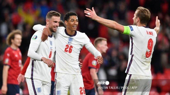LINK NONTON Kualifikasi Piala Dunia 2022 Zona Eropa, Inggris vs Hungaria, Ini Starting XI Kedua Tim