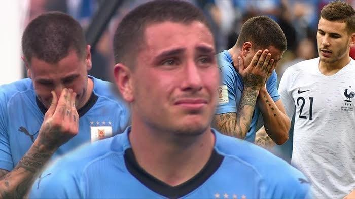 Tangisan Jose Gimenez di Laga Uruguay vs Perancis Jadi Viral! Banyak Simpati dan Dukungan Mengalir