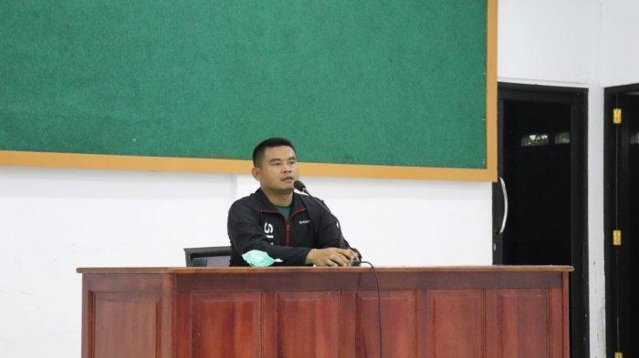 Dandim 0419/Tanjab Letkol Inf Erwan Susanto Beri Pengarahan Anggota Kodim dan PNS