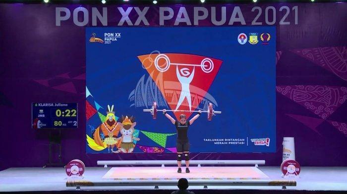 Klasemen Sementara Perolehan Medali PON Papua 2021 - Jabar Puncak Klasemen, Jambi Peringkat 12