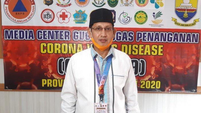 Identitas 4 Pasien Positif Corona Terbaru Provinsi Jambi, Klaster Malaysia dan Pasar, Total 95 Orang