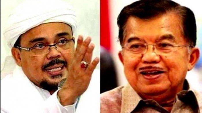 Niat Jusuf Kalla Terbongkar, Ketahuan Perintahkan Jenderal Ini, Minta Habib Rizieq Dipenjara Saja