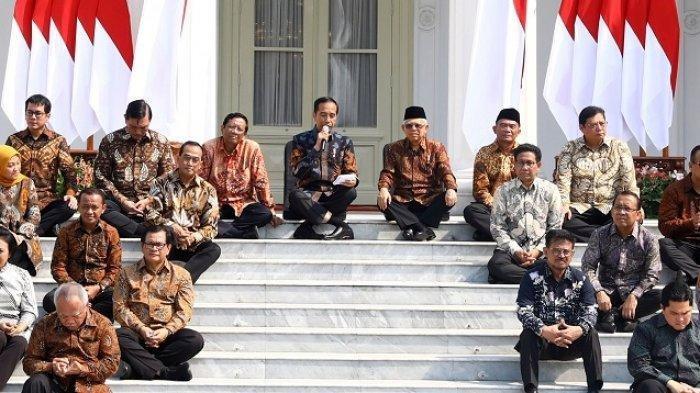 Prabowo Jadi Sorotan Lagi di Tengah Isu Reshuffle Kabinet Jokowi, Beredar Nama Menteri yang Dicopot