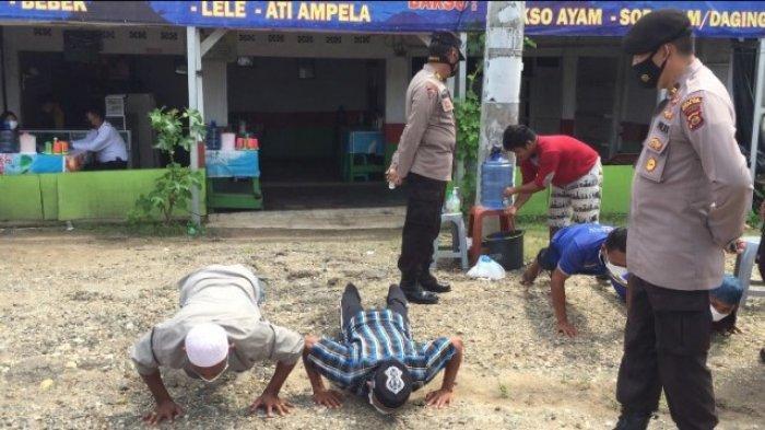 51 Orang Pengendara Tak Pakai Masker Terjaring Razia Operasi Yustisi Satgas Batanghari