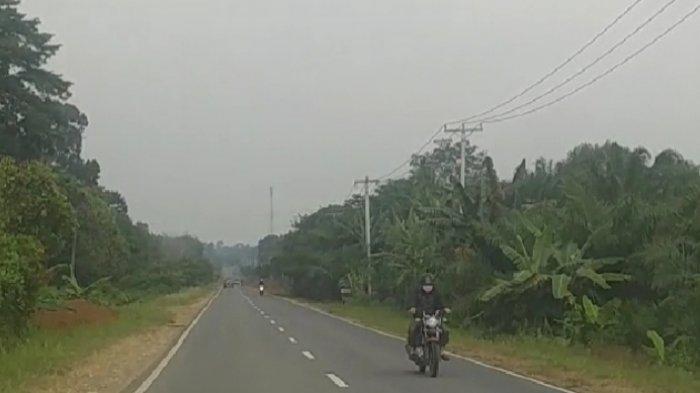 BREAKING NEWS: Kabut Asap di Wilayah Kabupaten Sarolangun, Dinkes Minta Masyarakat Kenakan Masker