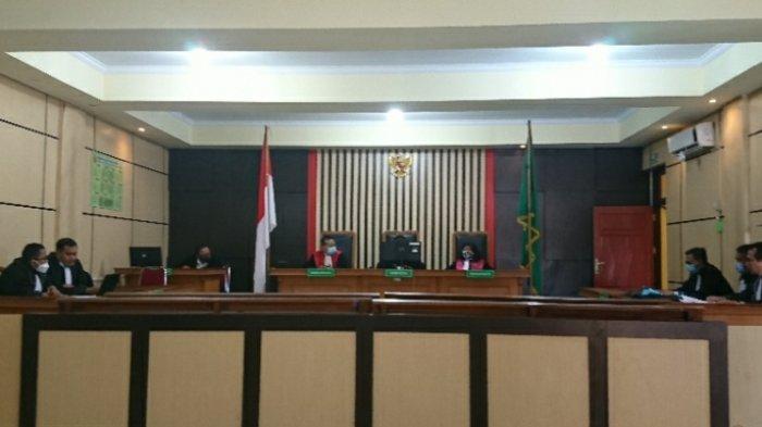 Kades dan Sekdes Kembang Tanjung Didakwa Kasus Korupsi Dana Desa