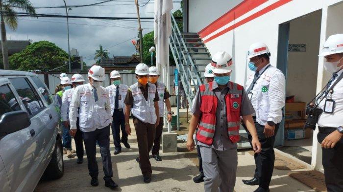 Kajati Pantau Pembangunan Menara Sembilan Bank Jambi, Gedung Tertinggi Pertama di Provinsi Jambi