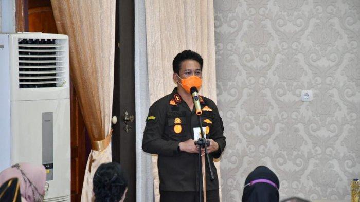 Kajati Jambi saat kunjungan kerja ke Kabupaten Sarolangun, Kamis (28/1).