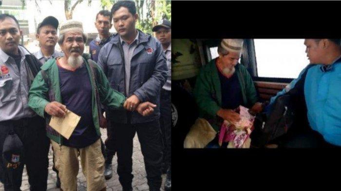 Kakek Muklis, Pengemis Kaya Asal Jambi yang Ditangkap di Jakarta Miliki Rp194 Juta di Ranselnya