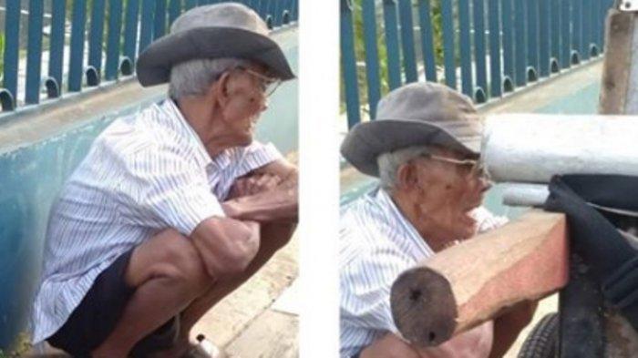 Alasan Kakek Penjual Abu Ini Tetap Berpuasa Meski Sahur dan Buka Hanya Air Putih Bikin Haru