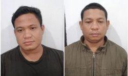 Kandes Darmawan dan Haliyan dua pelaku pengangkut minyak ilegal