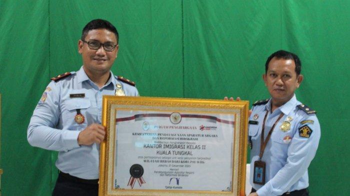 Kantor Imigrasi Kuala Tungkal Raih Predikat WBK, Erwin: Ini Prestasi Luar Biasa