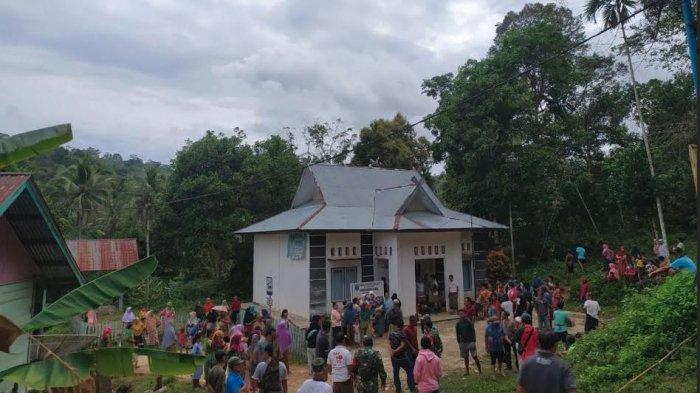 Warga Ngamuk dan Rusak Kantor Kades Lubuk Bedorong Gegara Aktivitas PETI