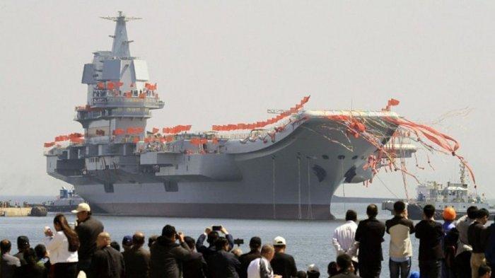 Xi Jinping Makin Unjuk Taring Usai Kirim Kapal Induk Kedua Bernama Shandong ke Laut China Selatan