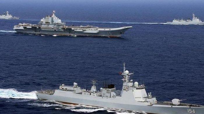YAKINNYA Beijing Bahwa Joe Biden Ingin Memulai Perang Usai Armada PLA China Usir Kapal Perang AS