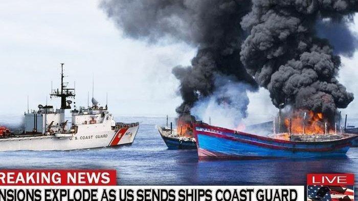 Amerika Mulai Kasar, Kapal Nelayan China Akan Sikat Habis, Negara-negara di ASEAN Mulai Panik