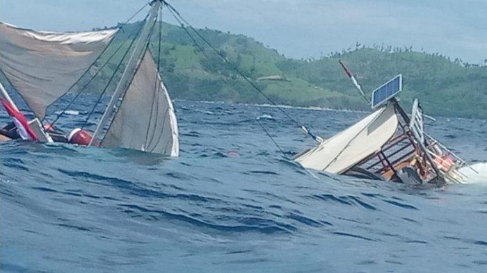 Kapal yang Ditumpangi Wartawan Istana Terbalik Dihantam Ombak di Labuan Bajo, Lagi Liput Jokowi