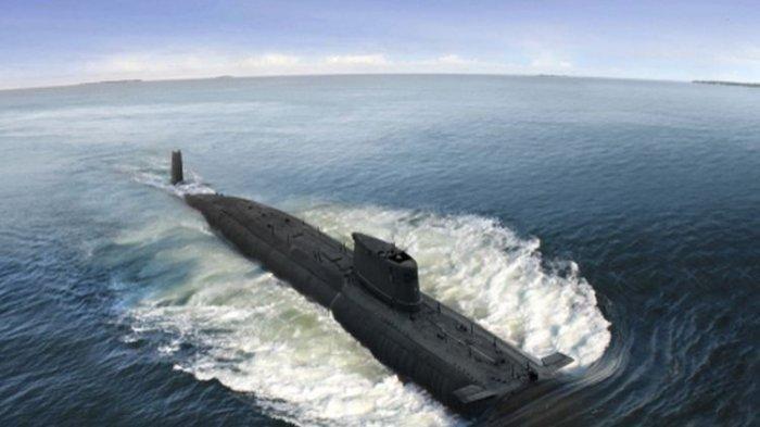 Ilustrasi kapal selam. Diduga KRI Nanggala-402 tenggalam di Palung 700 meter.