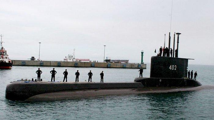 UPDATE Kabar Hilang Kontaknya Kapal Selam TNI AL, 53 Orang Berada di Kapal Selam Nanggala-402