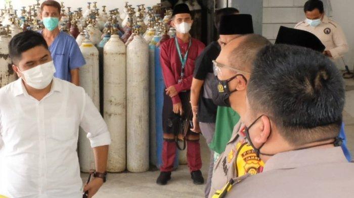 Kepala Kepolisian Daerah (Kapolda) Jambi Irjen Pol A Rachmad Wibowo, S.I.K., berkunjung ke Kabupaten Batanghari, Selasa (03/8/21).