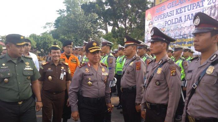 Ribuan Personel Gabungan TNI - Polri Dikerahkan Amankan Pilkada di Tiga Daerah Provinsi Jambi