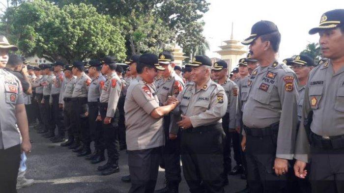 Kapolda Jambi Patroli Malam-malam, Cek Pengamanan Pemilu 2019