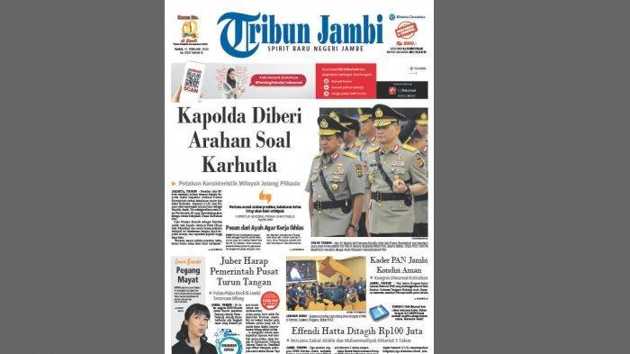Kapolda Jambi Diberi Arahan Soal Karhutla, Petakan Karakteristik Wilayah Jelang Pilkada