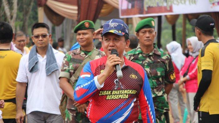 Jalin Silaturahmi Kapolda Jambi Irjen Pol Muchlis Gelar Family Gathering Polda Jambi di Terusan