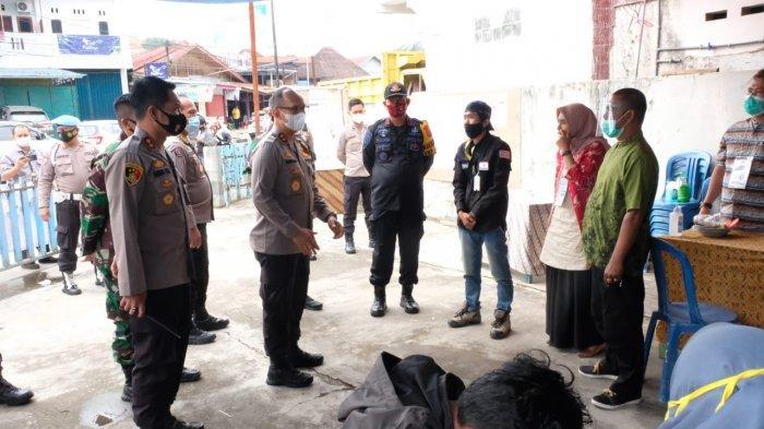 Kapolda Jambi Pantau Kamtibmas Pasca Pencoblosan Pilkada Sungai Penuh
