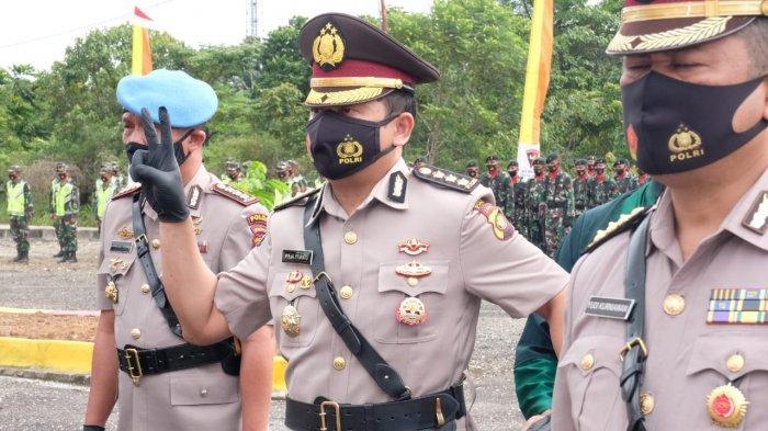 Kapolda Jambi, Irjen Pol A Rachmad Wibowo memimpin serah terima Jabatan (Sertijab) lima pejabat utama Polda Jambi