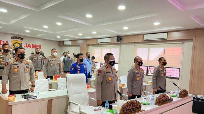 Kapolda Jambi Ikuti Musyawarah Rencana Pembangunan (Musrenbang) Polri yang Dipimpin Kapolri