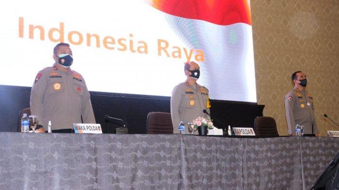 Kapolda Jambi, Irjen Pol A. Rachmad Wibowo pagi ini membuka Rakernis Fungsi Intelkam Polda Jambi di Gedung RCC, Broni Kota Jambi, Jum'at (09/04/21)