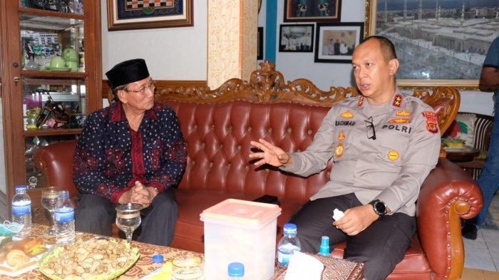 Kapolda Jambi Irjen Pol A Rachmad Wibowo Silaturahmi dengan Tokoh Masyarakat di Kota Jambi