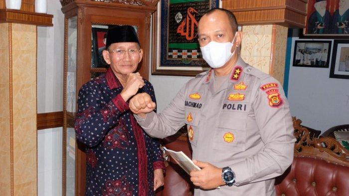 Kapolda Jambi, Irjen Pol A Rachmad Wibowo, SIK, melaksanakan kegiatan silaturahmi dengan tokoh masyarakat di Kota Jambi, Kamis (26/11/2020).