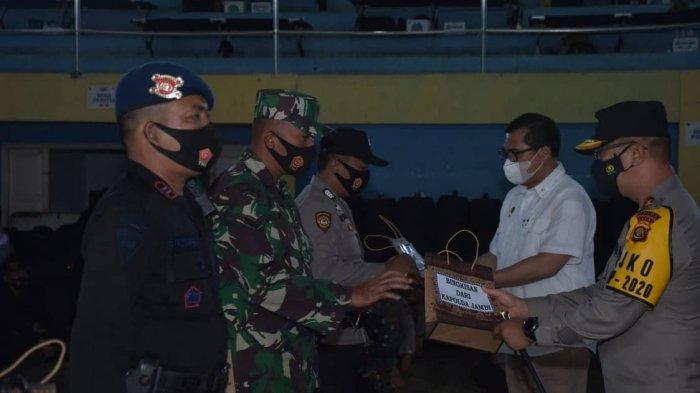 Kunjungi Kerinci, Kapolda Jambi Beri Semangat Personel TNI-Polri Pengamanan Pilkada di Kerinci