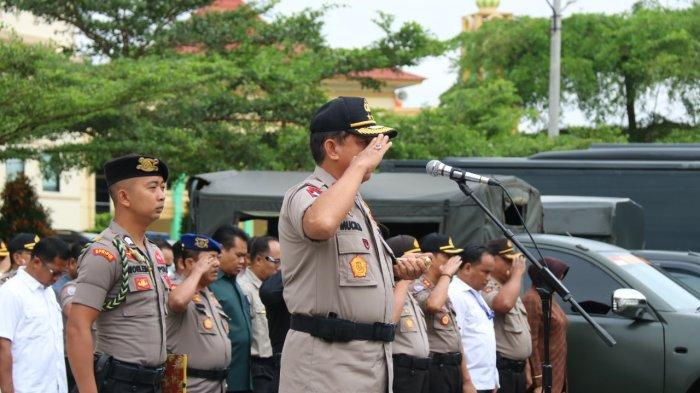 Irjen Pol Muchlis AS Pimpin Apel Bersama TNI-Polri BKO Polda Jambi, Jelang Pemilu 2019