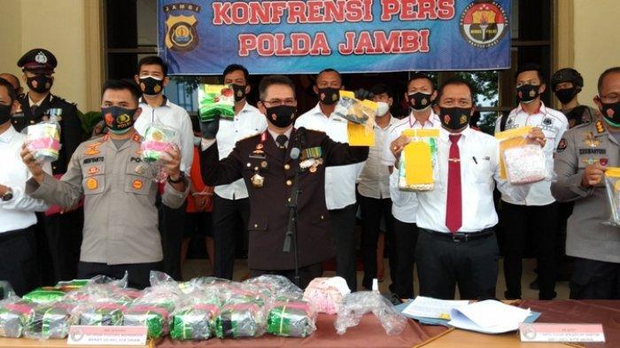 Coba Merebut Senjata Petugas Polda Jambi, Satu Kurir Sabu Asal Riau Tewas Saat akan Diamankan