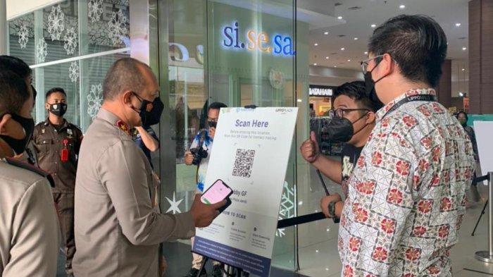 Ingin Masuk Mal di Kota Jambi, Pengunjung Harus Punya Aplikasi PeduliLindungi