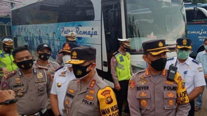 Cek Persiapan Pos Pam Lebaran Kapolda Jambi Lakukan Peninjauan ke Terminal Alam Barajo