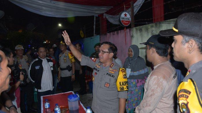 Patroli Pengamanan Pemilu 2019, Kapolda Jambi Irjen Muchlis Kunjungi PAM Terpadu TNI-Polri