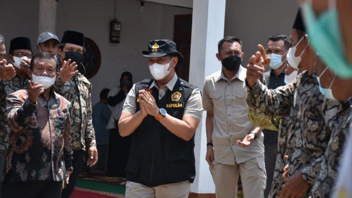 Kunjungan ke Kerinci, Kapolda Jambi Sempatkan Bersilaturahmi Dengan Masyarakat