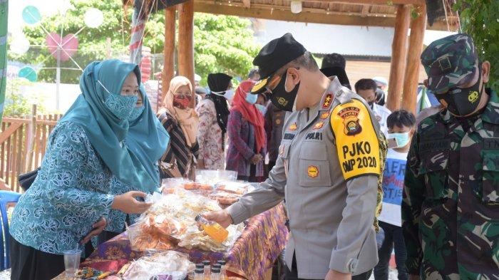 Kapolda Jambi Irjen Pol. A. Rachmad Wibowo Meninjau Kampung Bantar Tangguh Siginjai